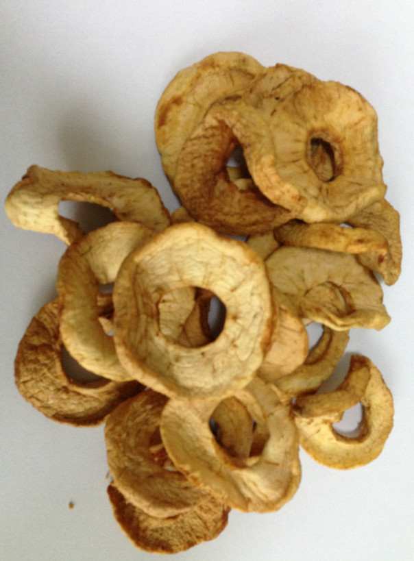 Sulfured And Unsulfured Dried Apple Rings