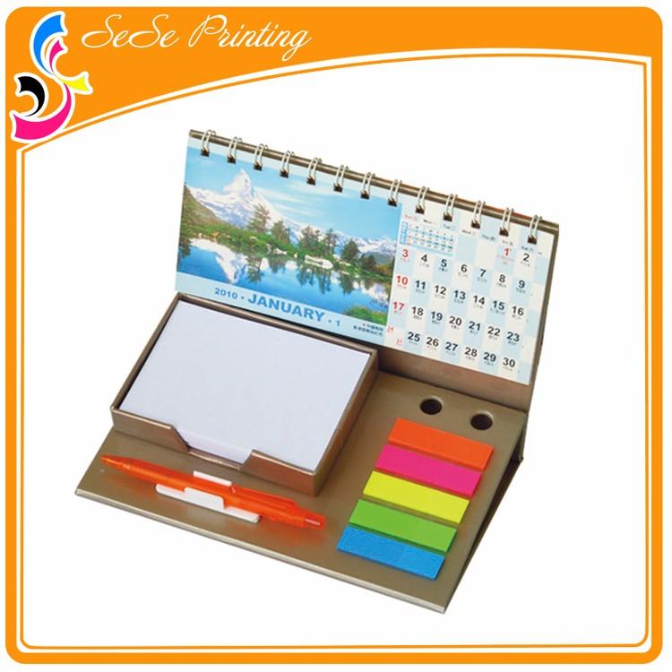 Custom Cute Handmade Desktop Stand Calendar 2015 Buy