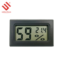 large led display room thermometer digital temperature humidity meter