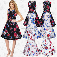 HD-37 Custom design Dress and skirts Rockabilly Clothing For Women