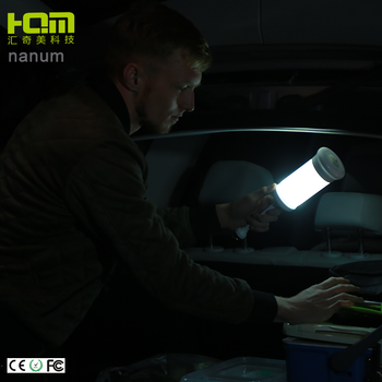 Nanum rechargeable led mini outdoor portable camping lamp for vehicle travel