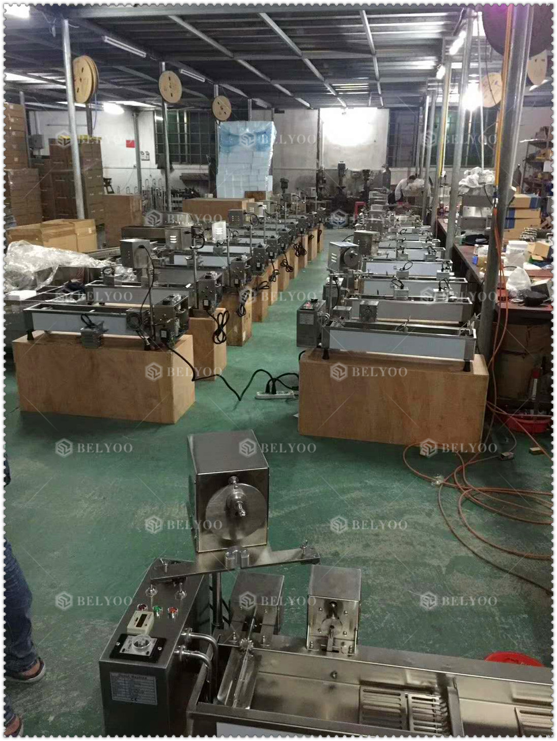 High Efficiency 3Mould Used Mini Donut Machine BYT100 Series Price
