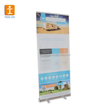 Personalizado Full Color CMYK Impresso Pull Up Banner Roll up Banner