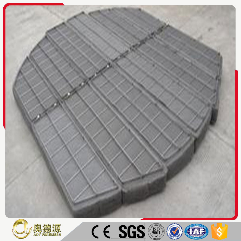 High quality hot sale stainless steel demister pad and demister wire mesh&mist eliminator