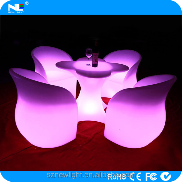 Christmas lamp led sofa , inductive or Dc charge lithium battery .16 colors change