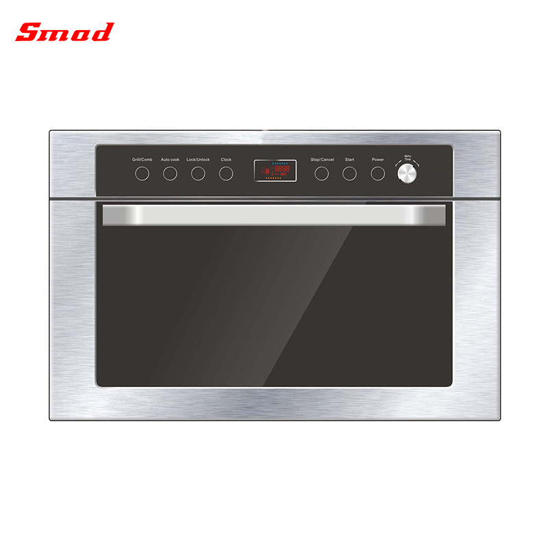 34l Built In Microwave Grill Convection Oven With Lcd Display Product On
