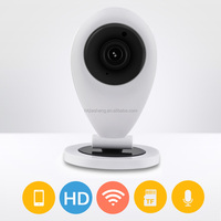 easy to install household home security wifi wireless baby monitor p2p ip camera