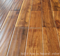 High quality Handscraped Exotic Acacia Hardwood flooring