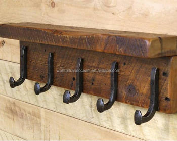 Industrial Rustic Style Coat Rack With Cast Iron Coat Hooks Buy Vintage Coat Rack Cheap Coat Rack Coat Hook Rack Product On Alibaba Com