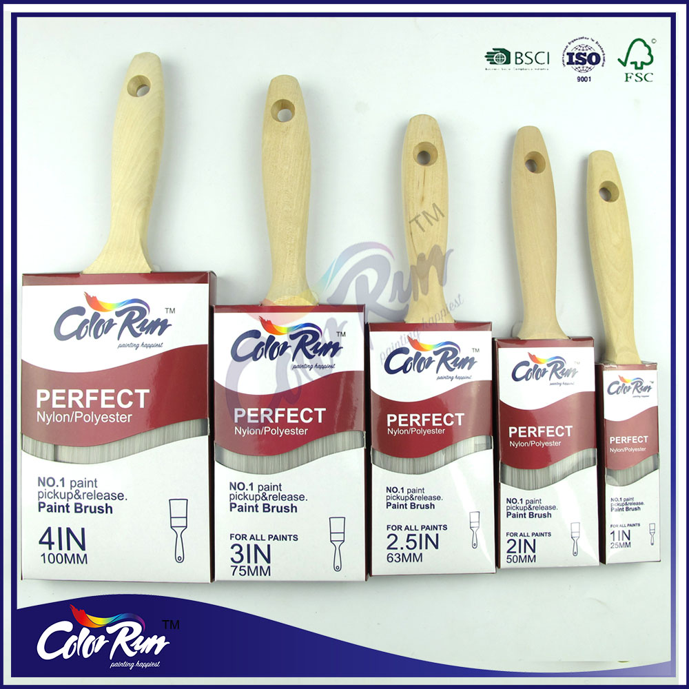 ColorRun Nylon Bristles Brush Paint Brush Set