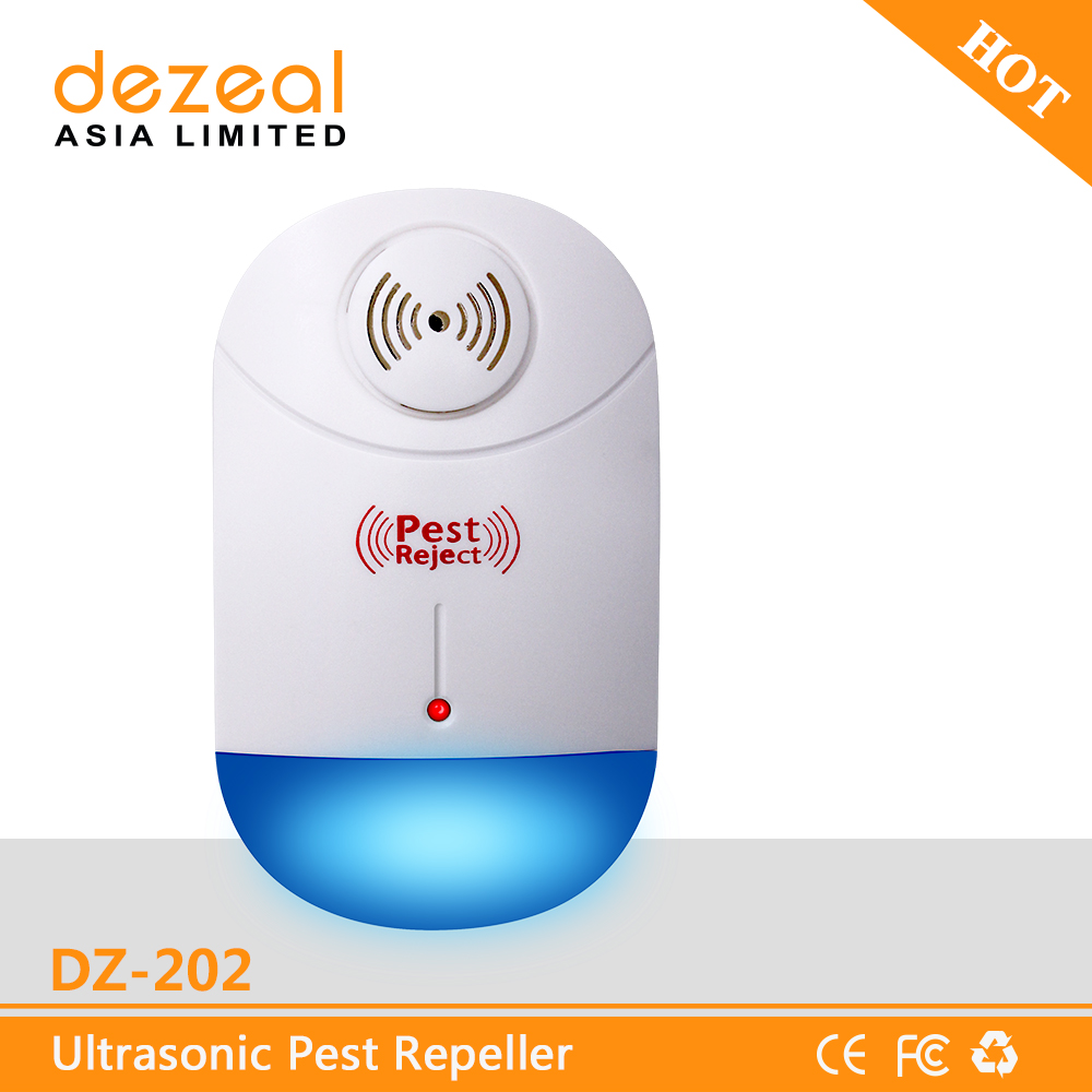 2017 Hot Selling Indoor Harmless Multifunctional Electrical Pest Killer Electronic Mosquito Repellent Ultrasonic Repeller