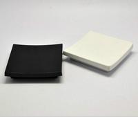 Hotel Acrylic Soap Dish Top Grade Room Square Soap Tray Dish Holder Wholesale custom Acryl White and Black Dish SD6001