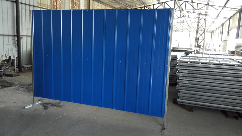 Construction Colorbond Fence Steel Sheet Hoarding With