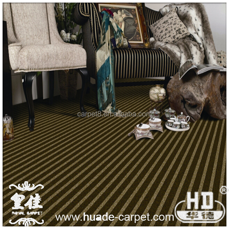 Fation Strip PU Backing Carpet Tile