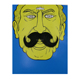 Wholesale Fake Artificial Mustache for Masquerade Carnival Party
