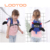 Cartoon design adjustable belt school backpack anti lost child bag with strap for outdoor playing