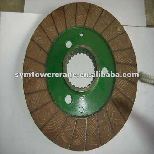 tower crane hoist brake lining disc for 55RCS,70RCS