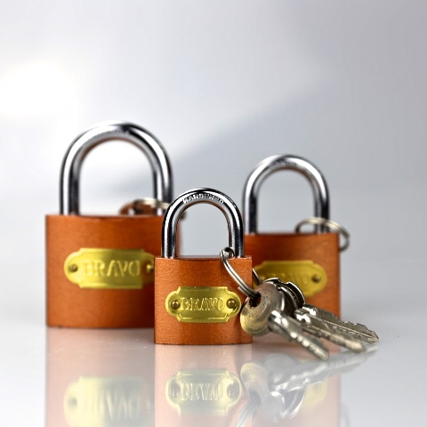 heavy type gray iron padlock 32mm