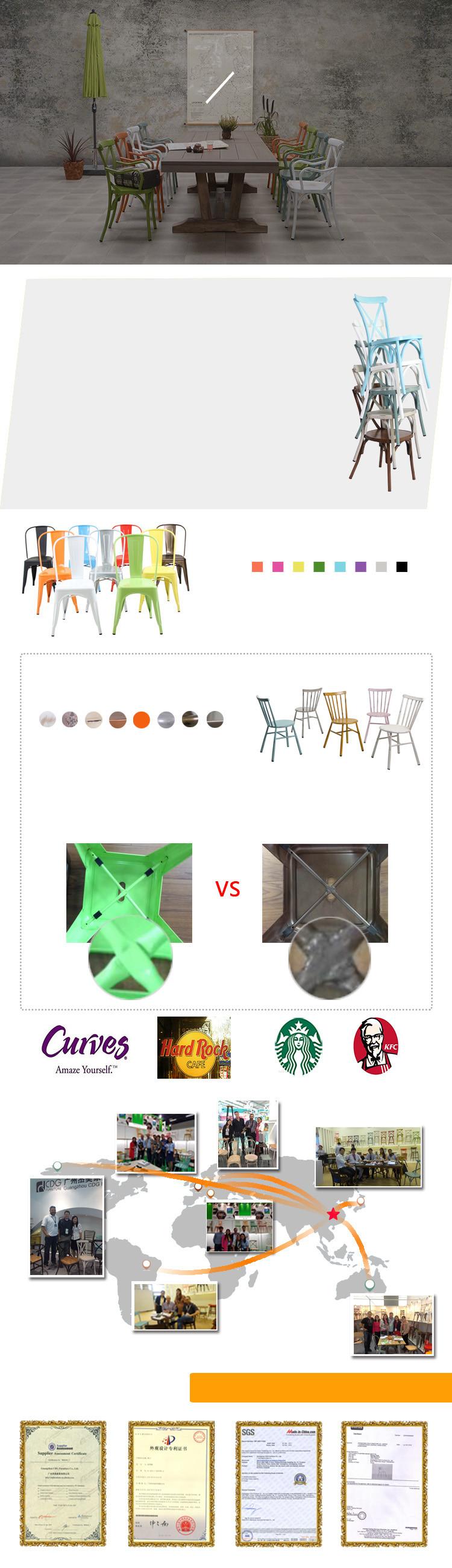 Simple Design Metal X Back Dining Chair Buy Simple Design Metal