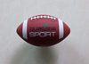 Rubber promotional american football