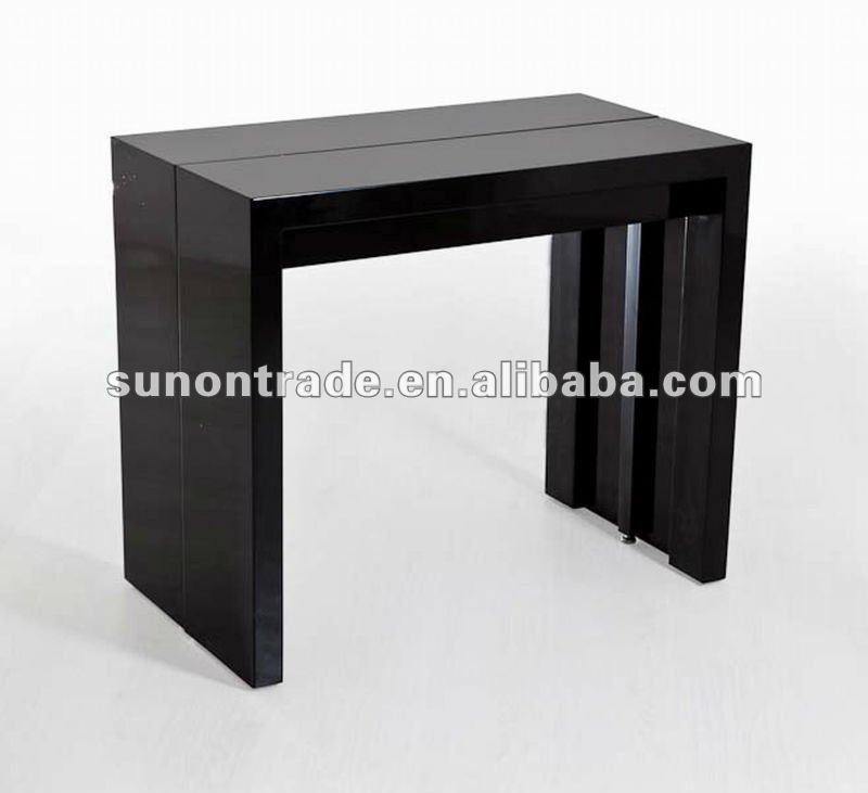 2012 nouveau mod le table manger extensible avec mdf for Table haute a manger