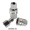 "1/8""1/4"" 3/8"" 1/2"" 1"" NPT/G /ZG Brass/ stainless hydraulic quick coupling"