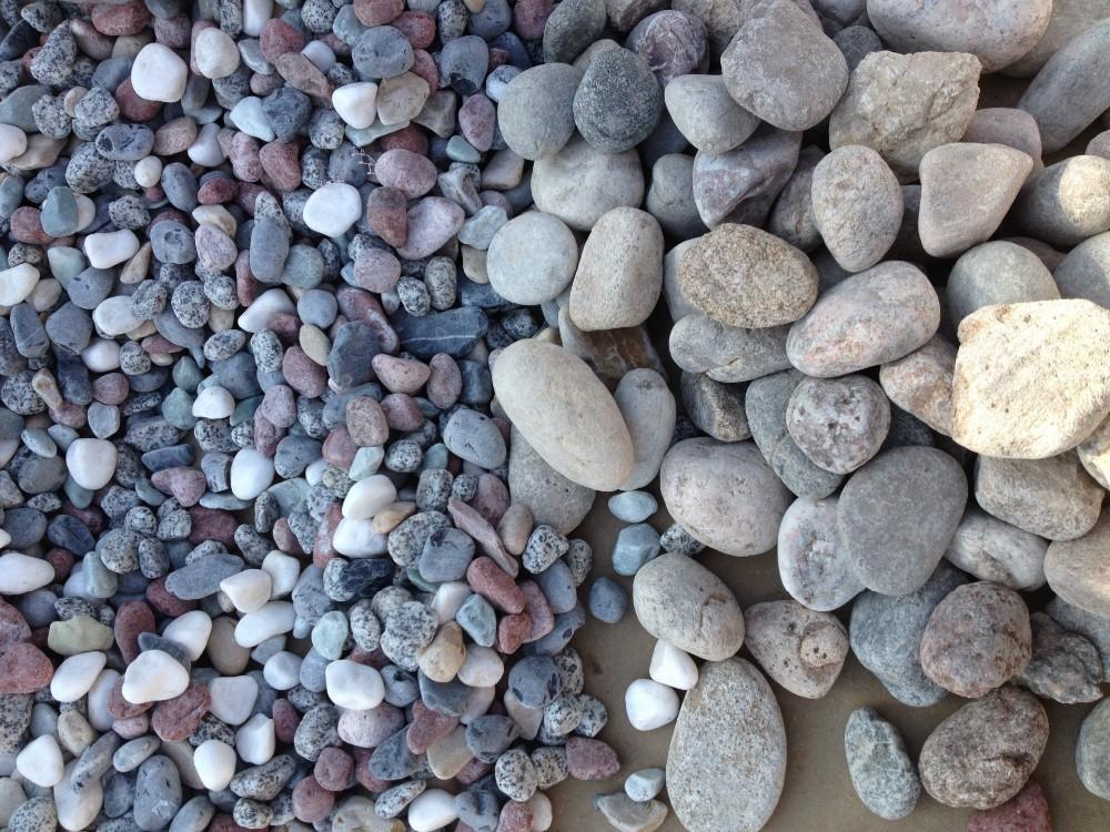Natural River Rock : Kualitas tinggi warna alami sungai batu dan kerikil