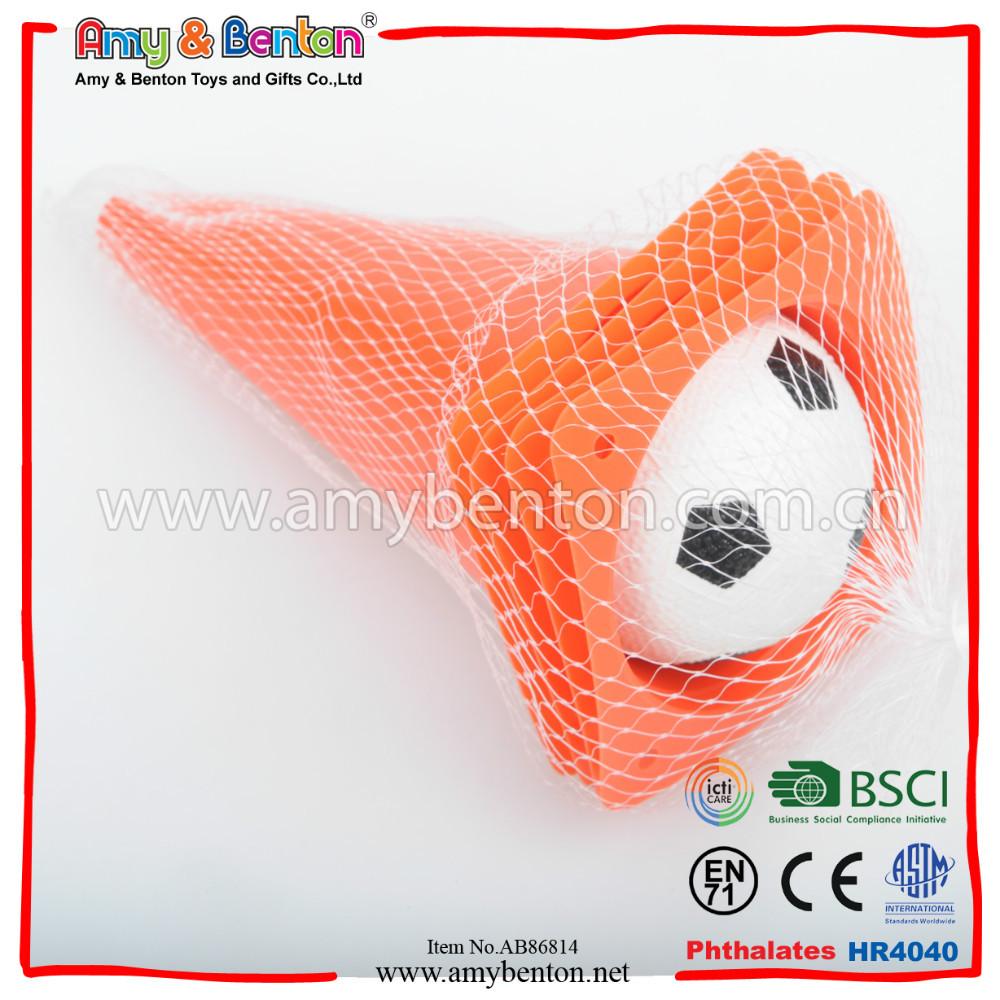 7 Inch Plastic Sport Cone Football Training With Mini Soccer Buy Small Conesmini Traffic Conesplastic Cones Product On