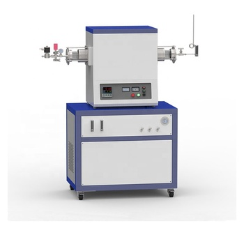 1200C hydrogen reduction CVD system with 2-channel float flowmeter to supply gas CY-T1200-100IC-2F-HP