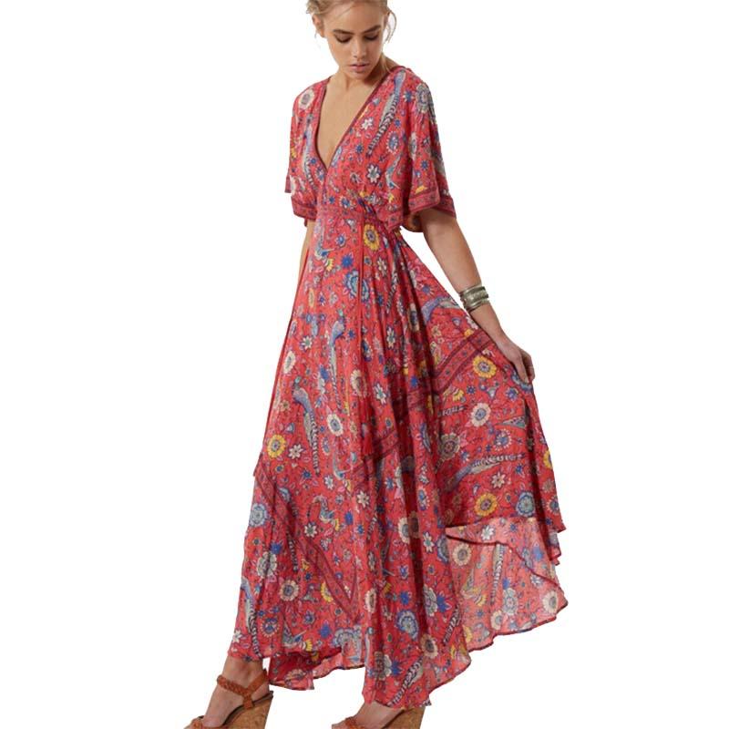 comprar genuino forma elegante en venta Venta al por mayor vestidos hippies fiesta-Compre online los ...