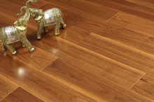 Oak Rustic Lacquered engineered wood flooring 6mm top