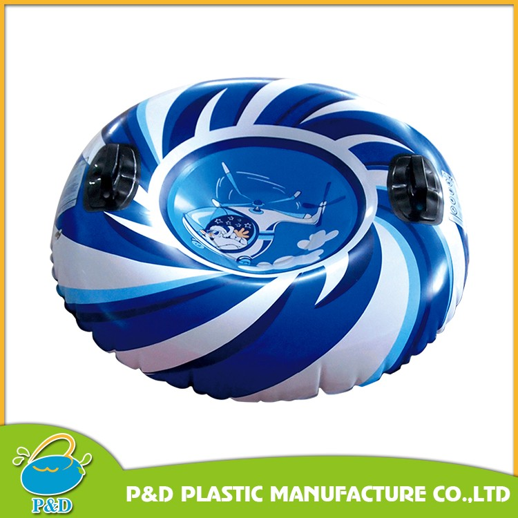 Inflatable Penguin Sled PVC Snow tube with nylon cover