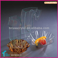 Popular Crystal Clear Cheap Glass Flower Vases Wholesale