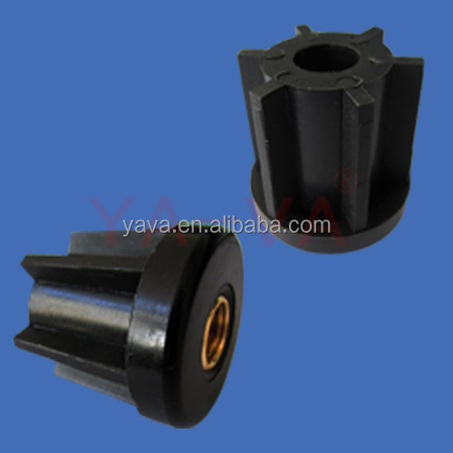 Plastic Threaded Tubes Ends/ Plastic Round Tubes/Conveyor Components