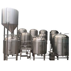 China manufacture high quality large beer brewery equipment