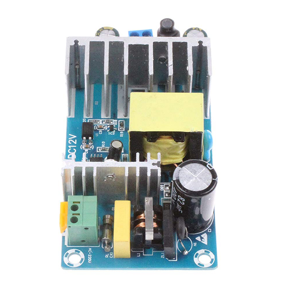 100W AC to DC Converter 85-265V AC to DC 12V 8A Adapter Industrial Module Switching Power Supply