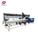 Single wire security chain link fence making machine
