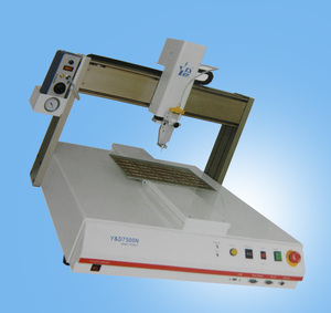 Desktop Auto epoxy doming machine / liquid glue dispenser machine