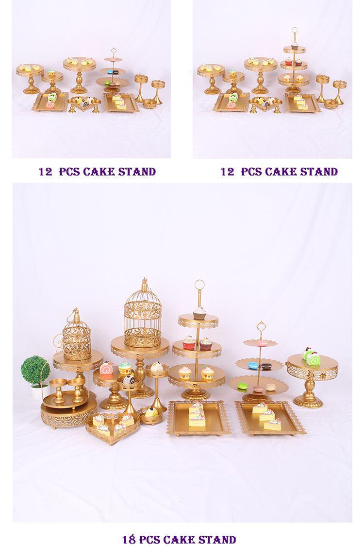 กระจกงานแต่งงานเค้กอุปกรณ์เสริมชุด cupcake ตกแต่งทำอาหารเค้กเครื่องมือ bakeware ชุด