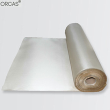 Thermal insulation fabric for cooler bags high silica glass fiber cloth