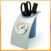 Cheaper Gift Penholder Quartz clock suitable for student and office