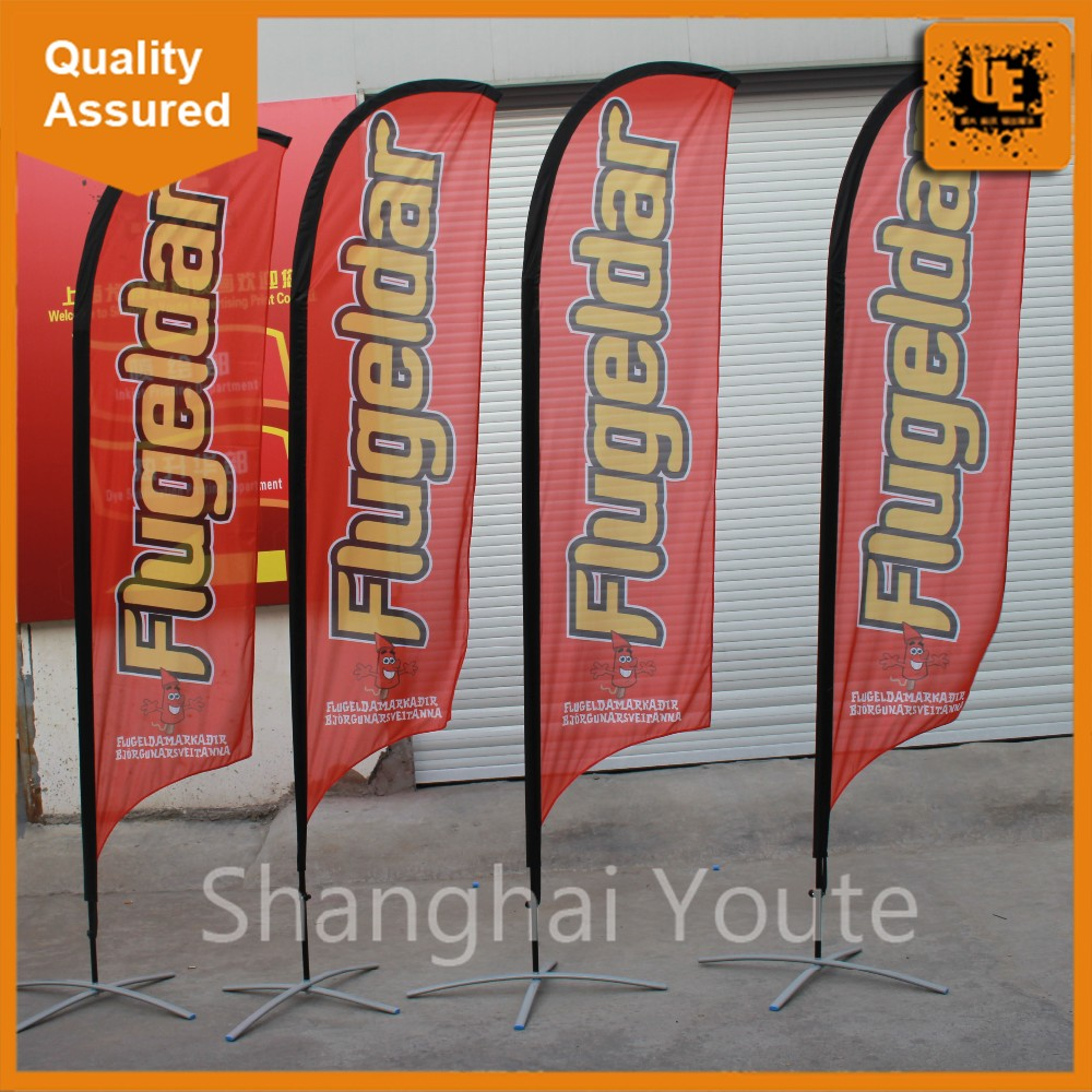 Banner banners banner poles outdoor display cheap custom - Display Beach Flags And Banners Custom Wind Feather Beach Flag Outdoor Flag With Telescopic