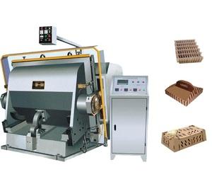 Manual box Corrugated Paper creasing die cutting machine for carton