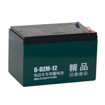 Quality Deep Cyle Gel 6-dzm-12 Lead Acid Battery 12v 12ah Electric Scooter Battery 6dzm12