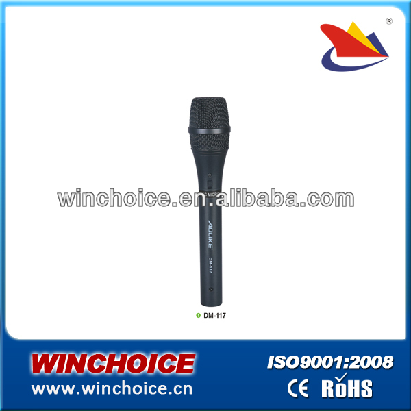 2013 professional dynamic handheld wire dynamic microphone