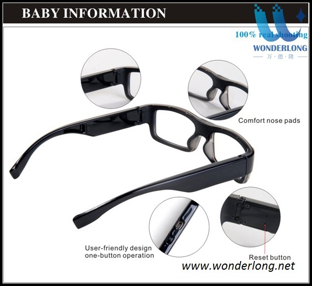 Hd 720p G3000 Glasses Hidden Camera No Pin Or Hole Of Lens Spy ...