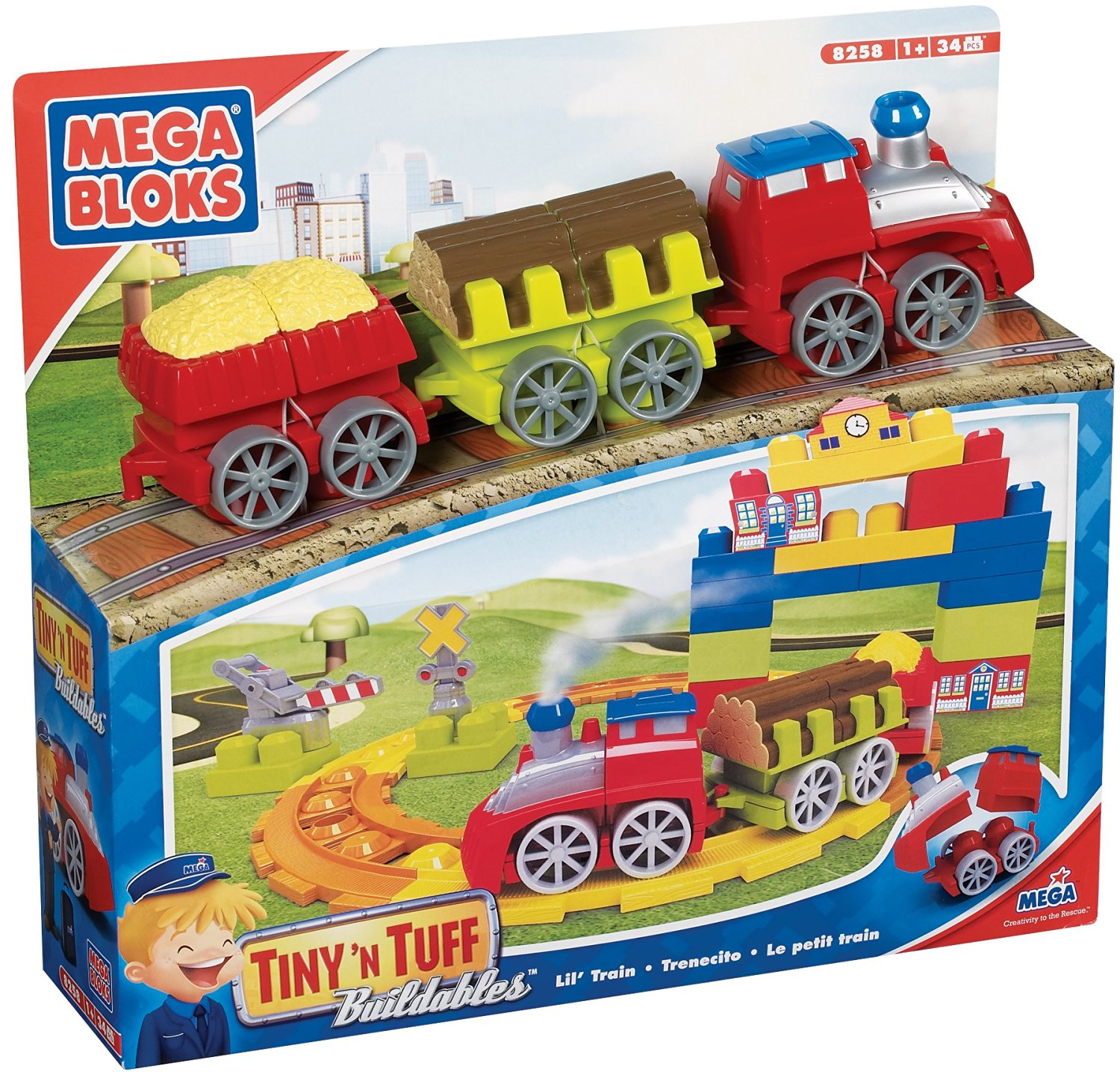 Buy Mega Bloks CAT Tinyn Tuff Buildables City in Cheap Price on