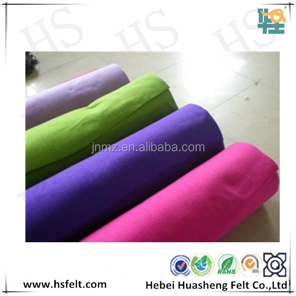 Industrial polyester fabric needle felt