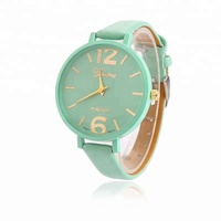 Lady Woman Wrist Watches High Quality Ladies Watches montre femme Geneva Quartz Watch Women Clock reloj mujer Elegant