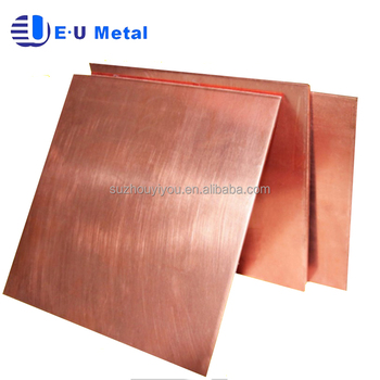 1mm 3mm 5mm 10mm Thickness Copper Plate